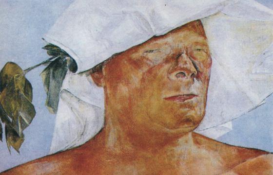 Olaf Gulbransson Selbstporträt