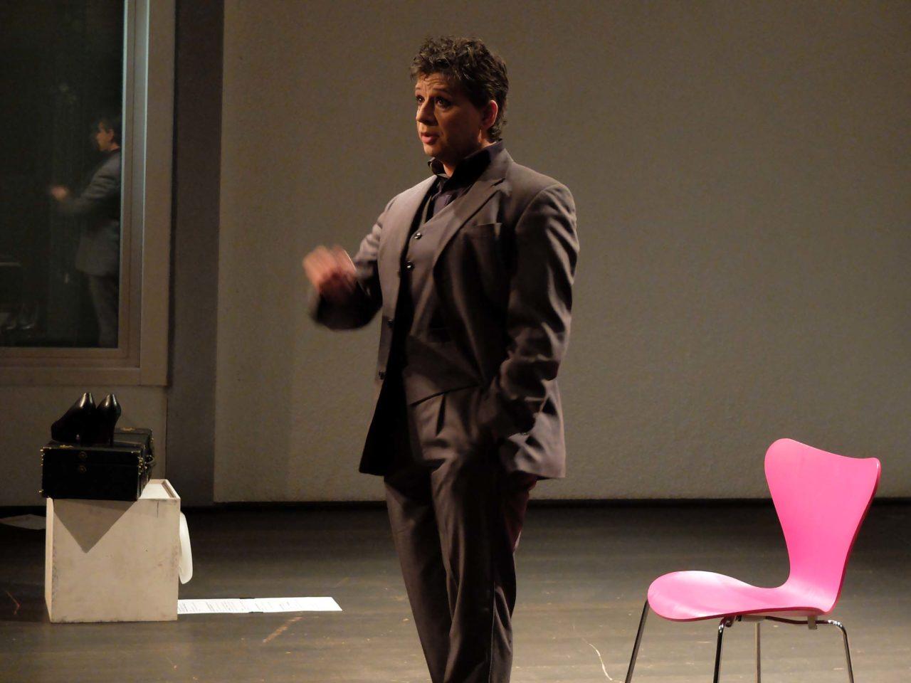 Gaston Florin im Meta Theater, Moosach