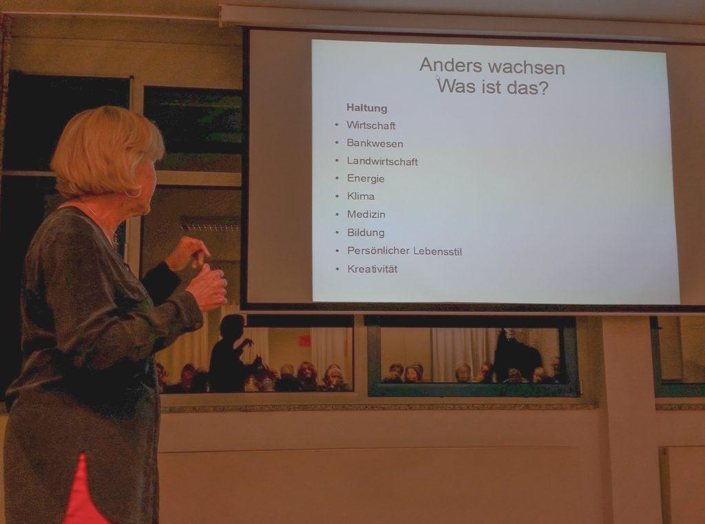 Was heißt Anders wachsen? - Monika Ziegler im Vortrag