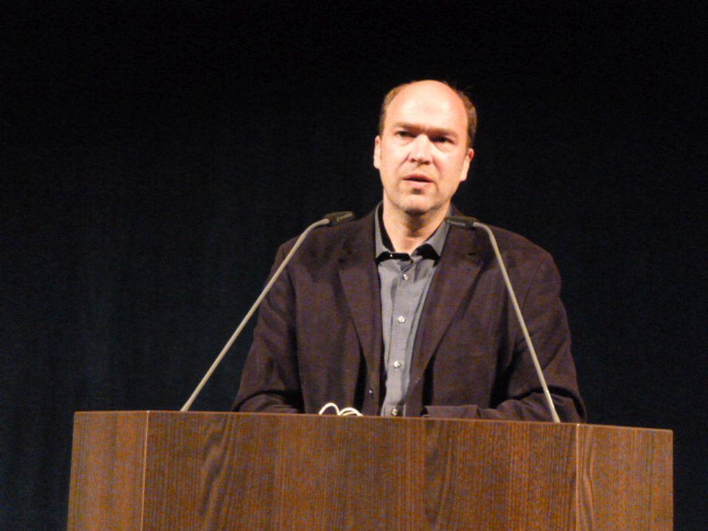 Markus Weingardt von der Stiftung Weltethos