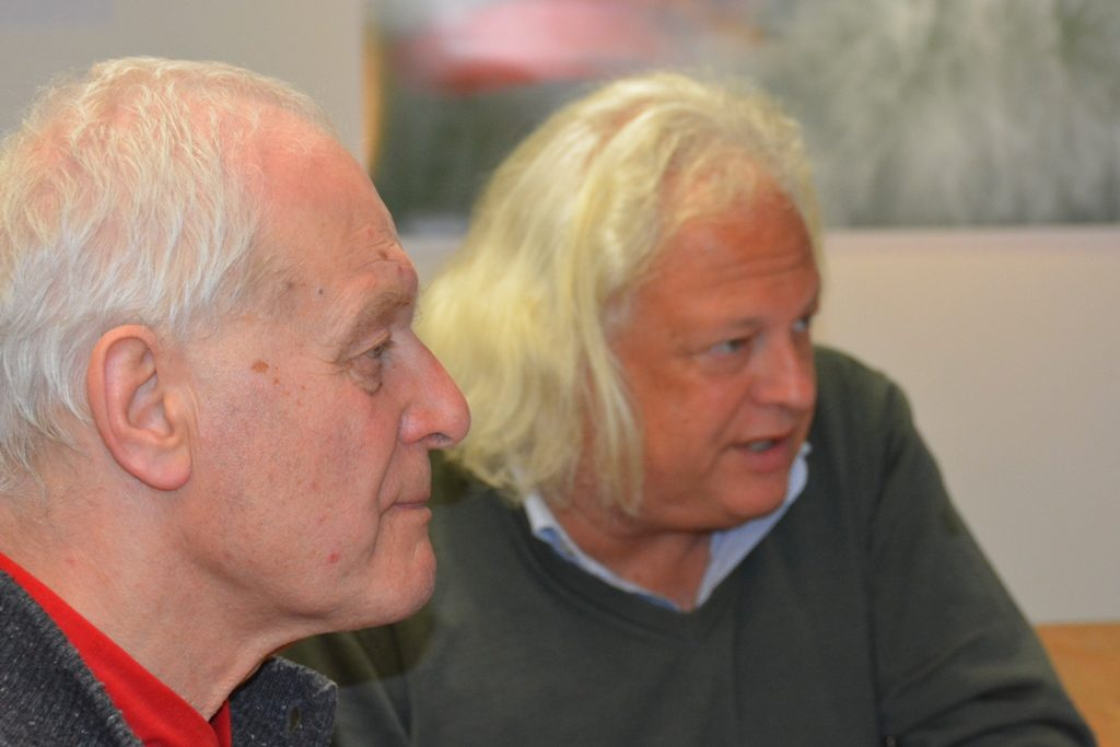 Michael Fackelmann und Christian Stadelbacher