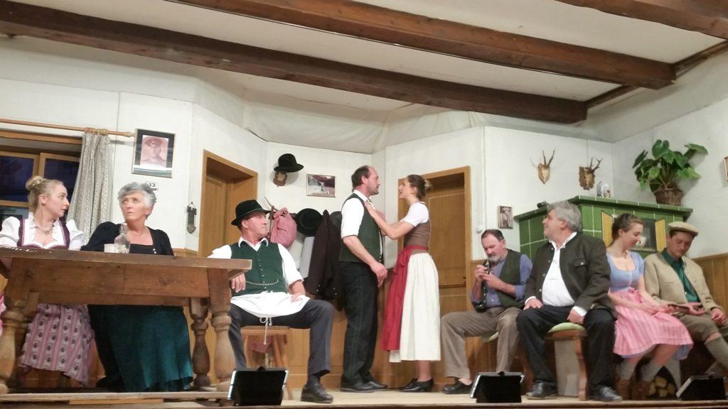 Theaterbühne Warngau. Ensemble.