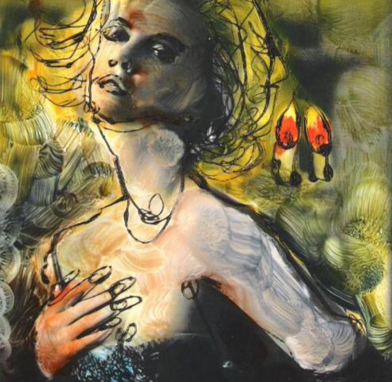 Starke Frauenporträts von Katharina Schellenberger (Ausschnitt)