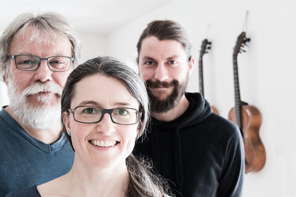 "Gitarrentrio ""Verzupft"": René Senn, Doris Leibold, Thomas Kohl (v.l.)"