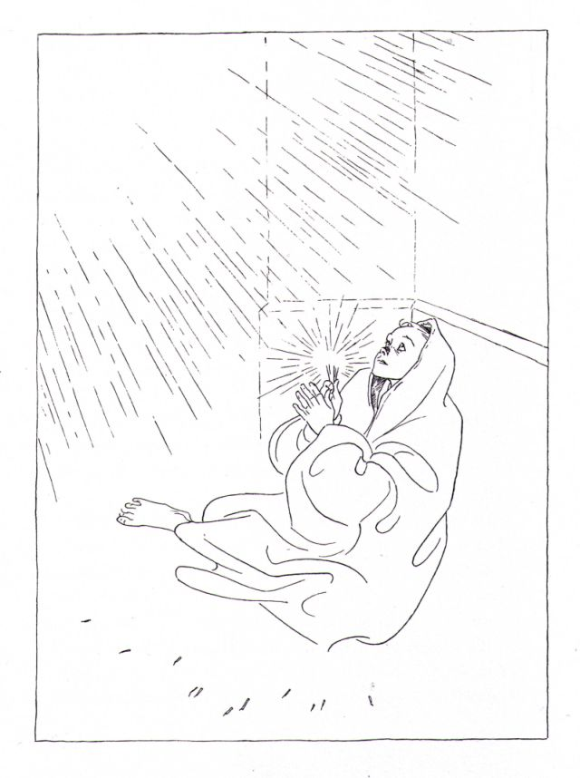 Olaf Gulbransson: Das Mädchen mit den Schwefelhölzern