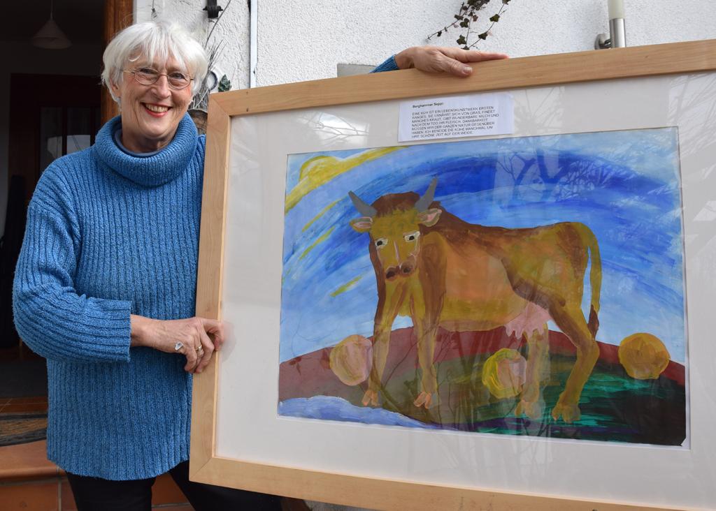 Brigitte Lobisch Gestütztes Malen