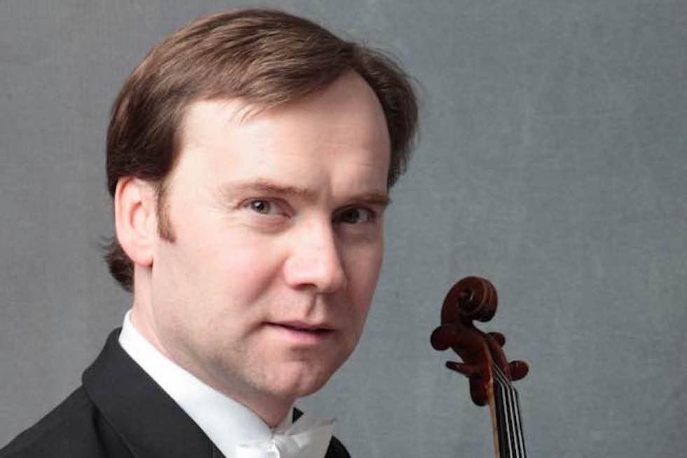 Michael Arlt vom Kammer-Quartett des Bayerischen Staatsorchesters
