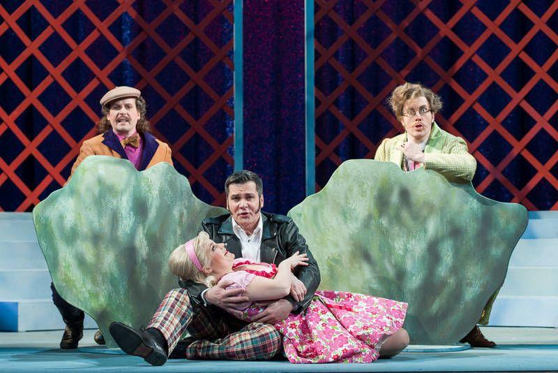 Die lustigen Weiber von Windsor Freies Landestheater Bayern