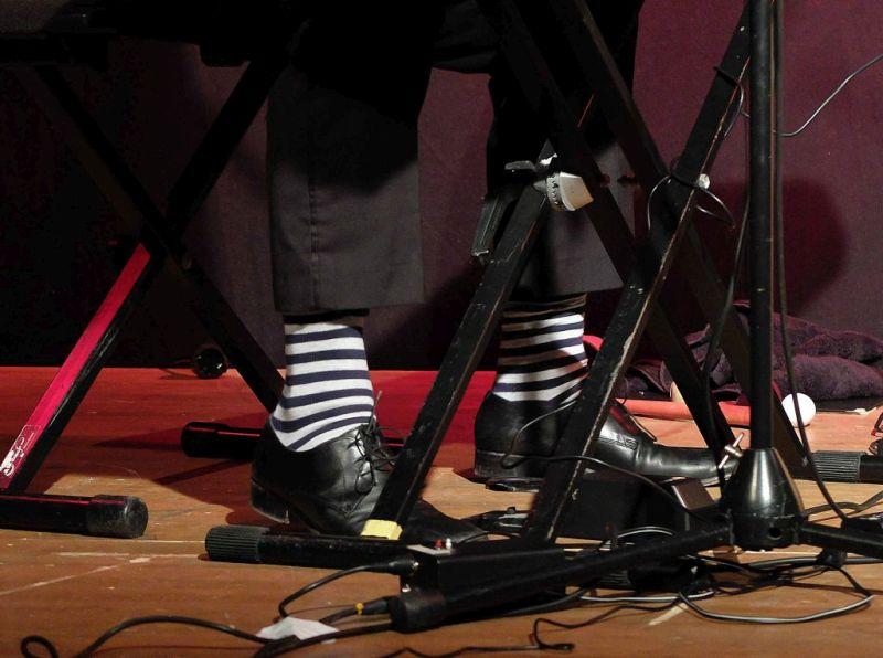 Speckmann und Pusch: Nicht nur die Musik war schräg