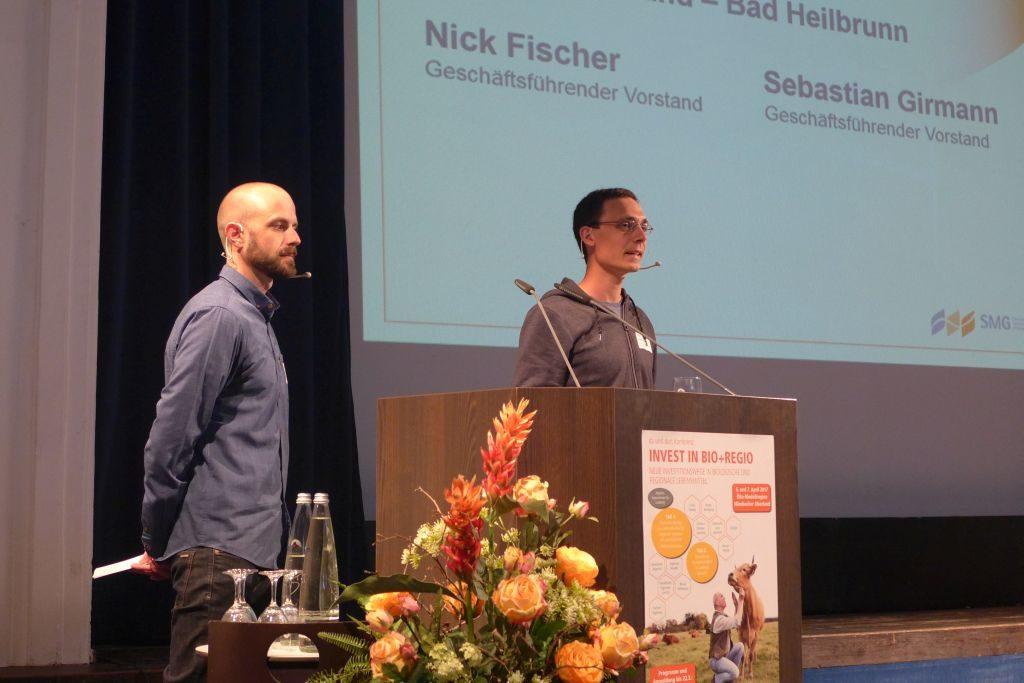 Bio+Regio Nick Fischer und Sebastian Girmann