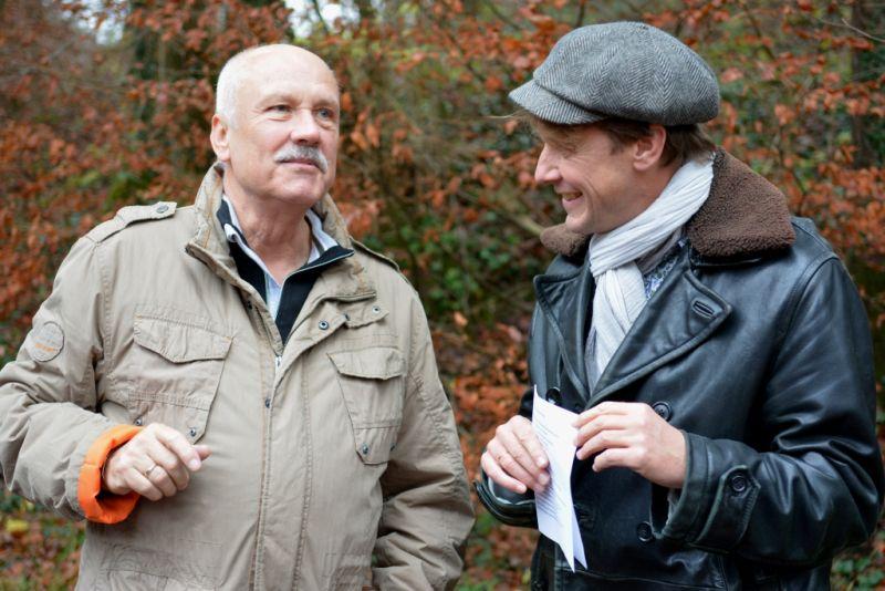 Christoph Quarch und Marc Tügel beim ersten Philosophietag in Valley