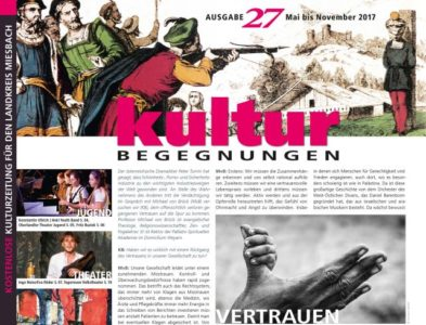 Titelblatt der 27. Ausgabe der KulturBegegnungen
