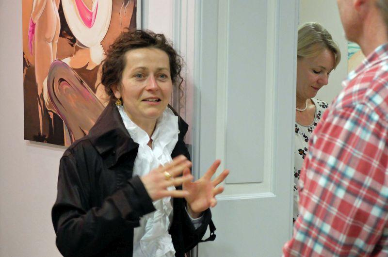 Museumsleiterin Elisabeth Hinterstöcker. Foto: Ines Wagner