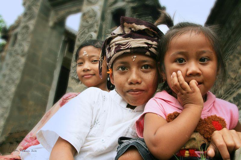 Karin Rebecca Baum fotografierte Kinder in Bali