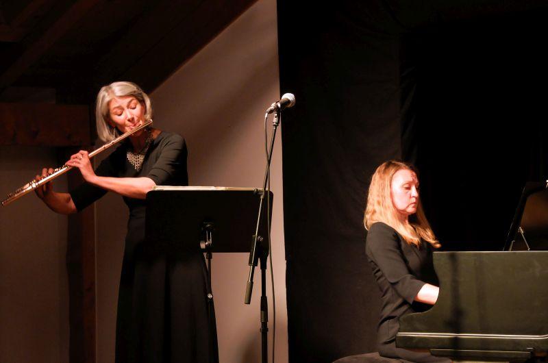 Gabriele Henn (Querflöte) und Swetlana Boldt (Klavier)