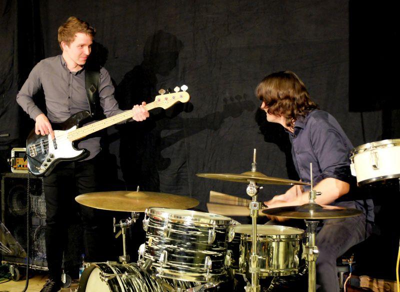 Ludwig Klöckner (Bass) und Manfred Mildenberger (Drums).
