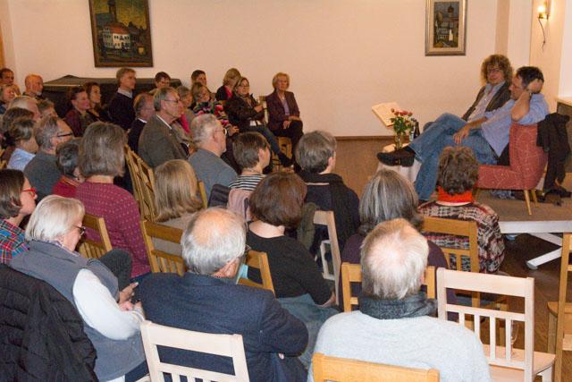 Gespanntes Publikum bei den Reithamer Gesprächen - Religion ist ein spannendes Thema