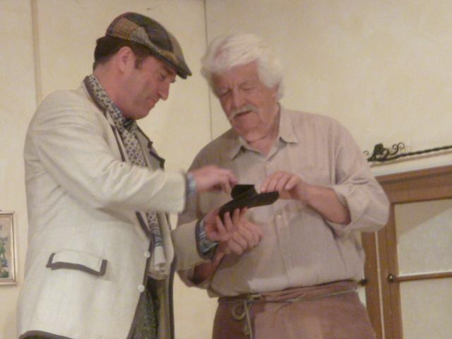 Schlierseer Bauerntheater: Kurgast