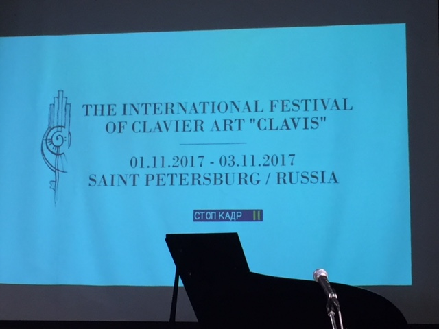 Klavierfestival Clavis in St. Petersburg - Eröffnung