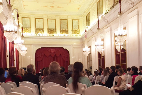 Gala-Konzert in St. Petersburg.