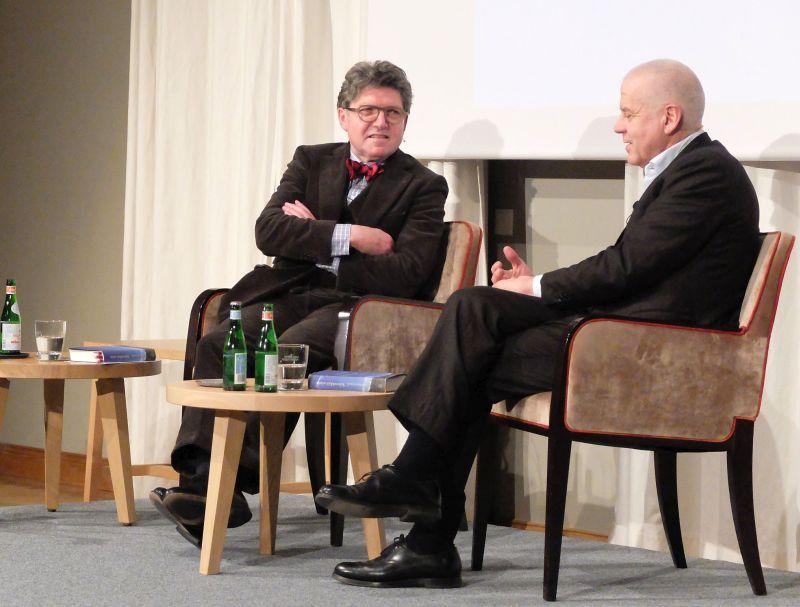 Prof. Dr. Wilhelm Vossenkuhl im Gespräch mit Dr. Matthias Politycki