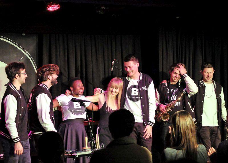 Bittenbinder – glücklich am Konzertende: Wir sind Bittenbinder