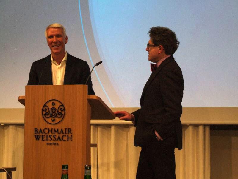 Ralf Wintergerst (links) und Prof. Wilhelm Vosenkuhl