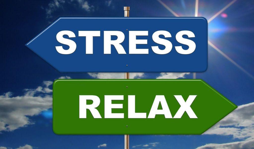 Stress und Relax - die beiden Gegenpole - moving me wirkt ausgleichend