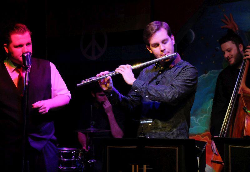 Franz Metz, Michael Schreiber, Michael Maier (v.l.). spielen den coolsten Swing