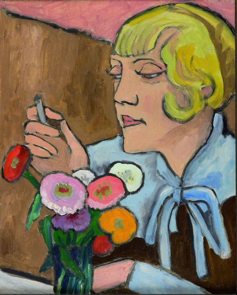 Bildnis einer Künstlerin (Margret Cohen), 1932.