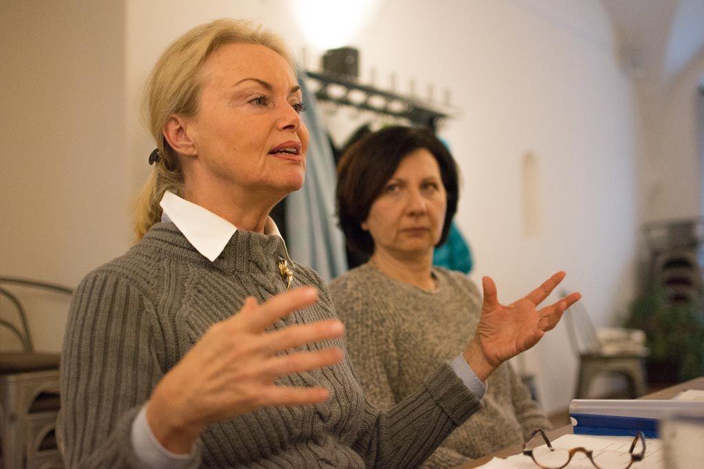 Frauen kommunizieren anders - Teilnehmerinnen beim Seminar