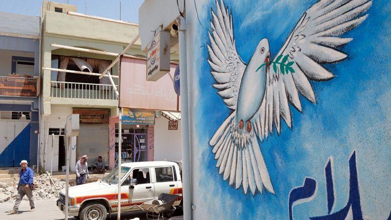 Christen im Irak - Missio Friedenstaube