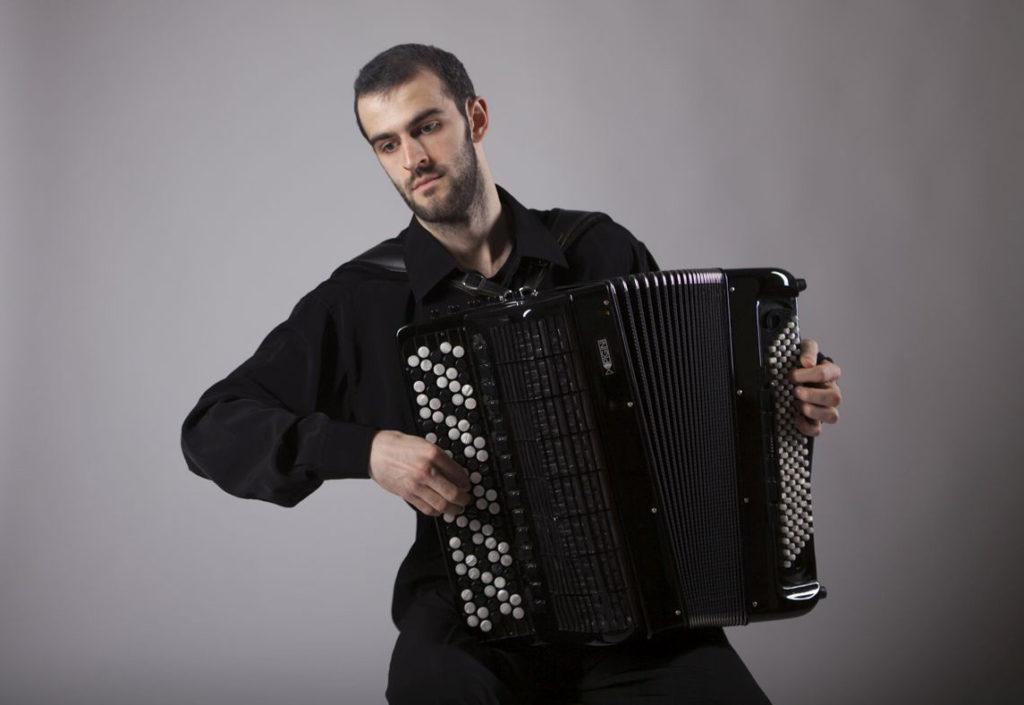 für Marko Ševarlić ist das Akkordeon das Instrument des 21. Jahrhunderts