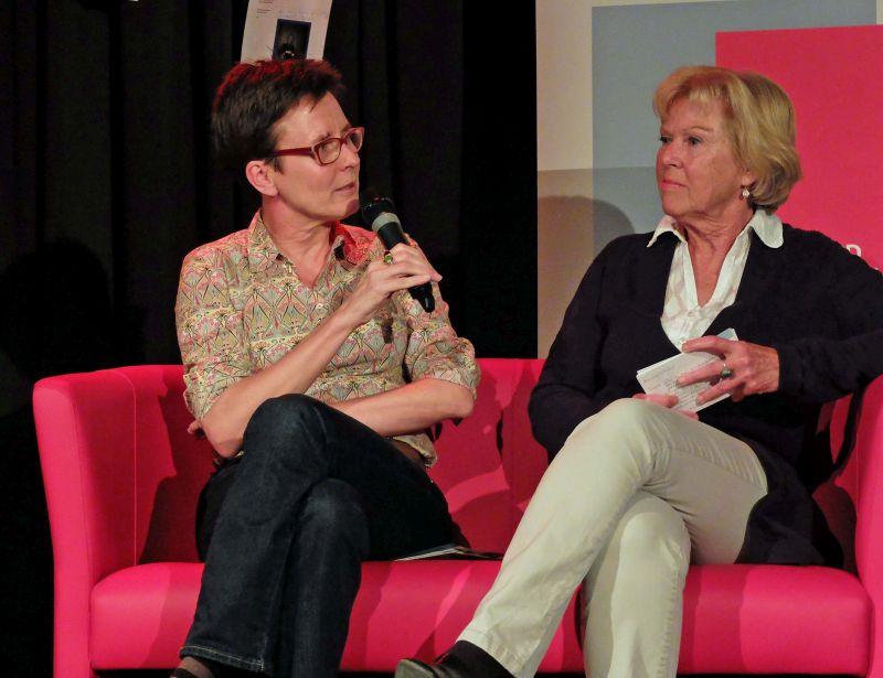 Isabell Zacharias, kulturpolitische Sprecherin der BayernSPD-Landtagsfraktion und Dr. Monika Zieger, KulturVision Kultur verbindet