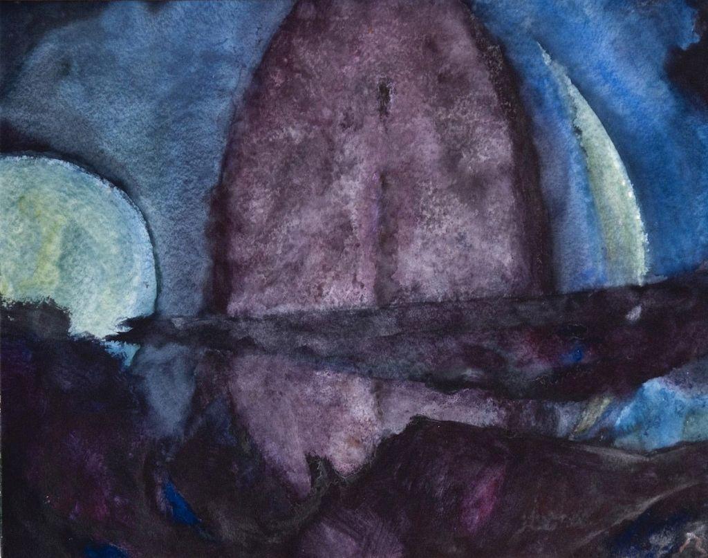 Herbert Beck: Nachtlandschaft