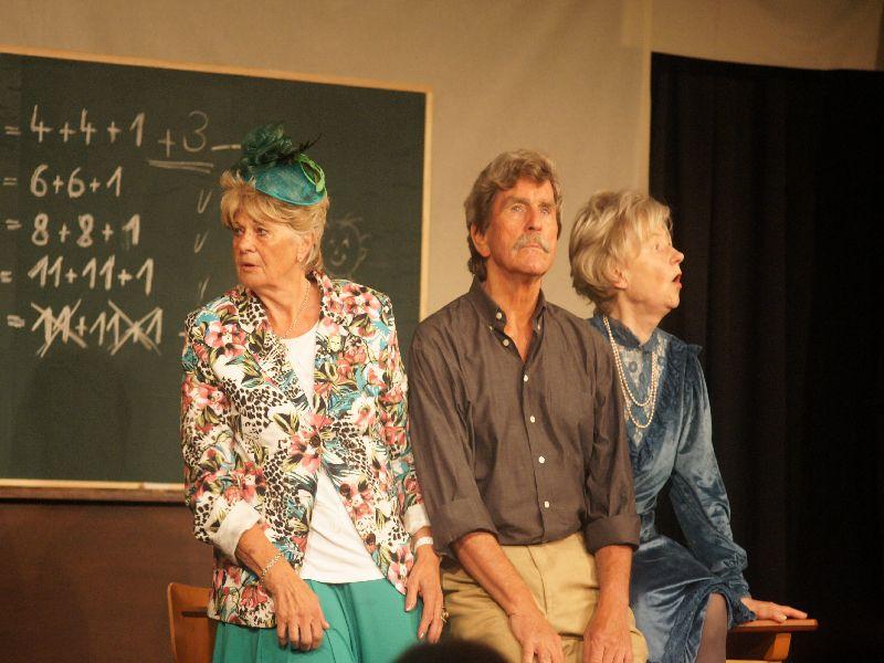 Inge Kirchberger, Jörg Lohmann und Traudl Möhrle haben die Lacher auf ihrer Seite
