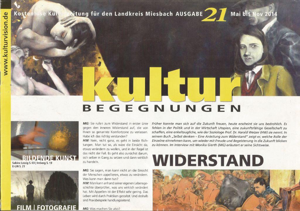 21. Ausgabe der KulturBegegnungen erschein zum 10. Jahrestag von Kulturvision