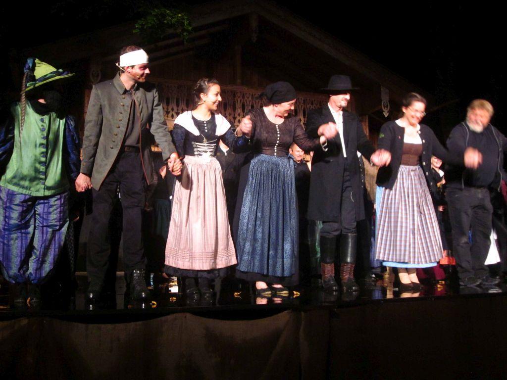 Volkstheater in Miesbach - der Goggolori unter Regie von Walter Kohlhauf