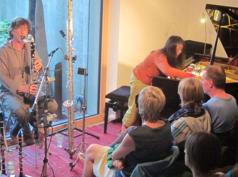 Improvisationsmusik - Udo Schindler und Masako Ohta