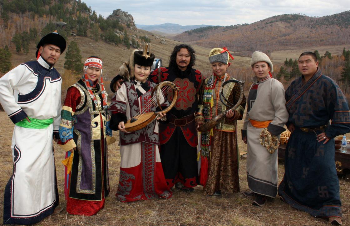 WEnsemble Altai aus der Mongolai auf Gut Sonnenhausen - auf Einladung des Meta Theaters Moosach