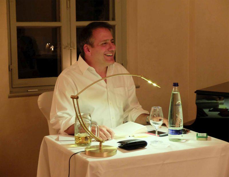 Martin Calsow liest im Stielerhaus