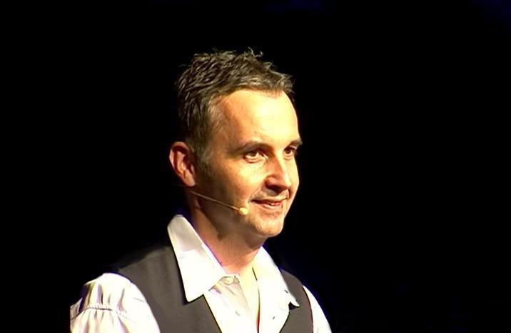 Stefan Kröll auf der Bühne