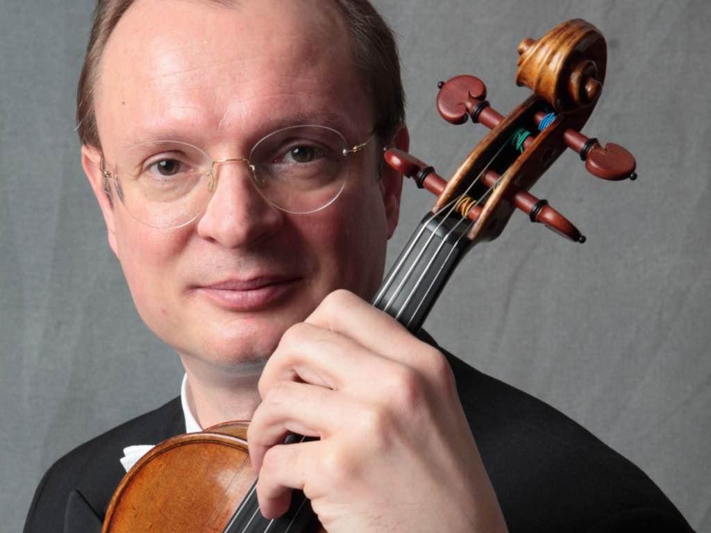 Markus Wolf, 1. Konzertmeister des Bayerischen Staatsorchesters