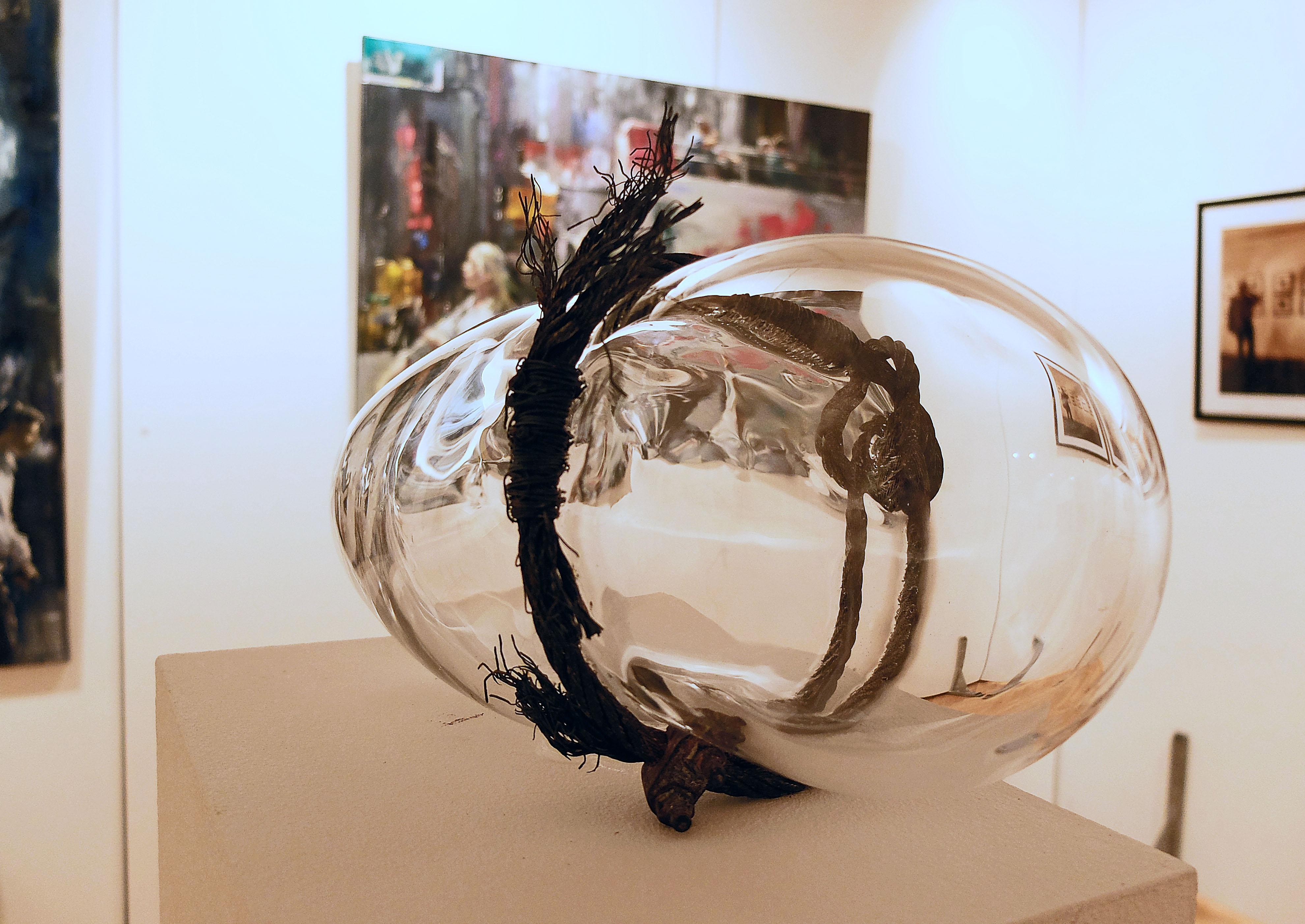 Glasobjekt von Ursula-Maren Fitz