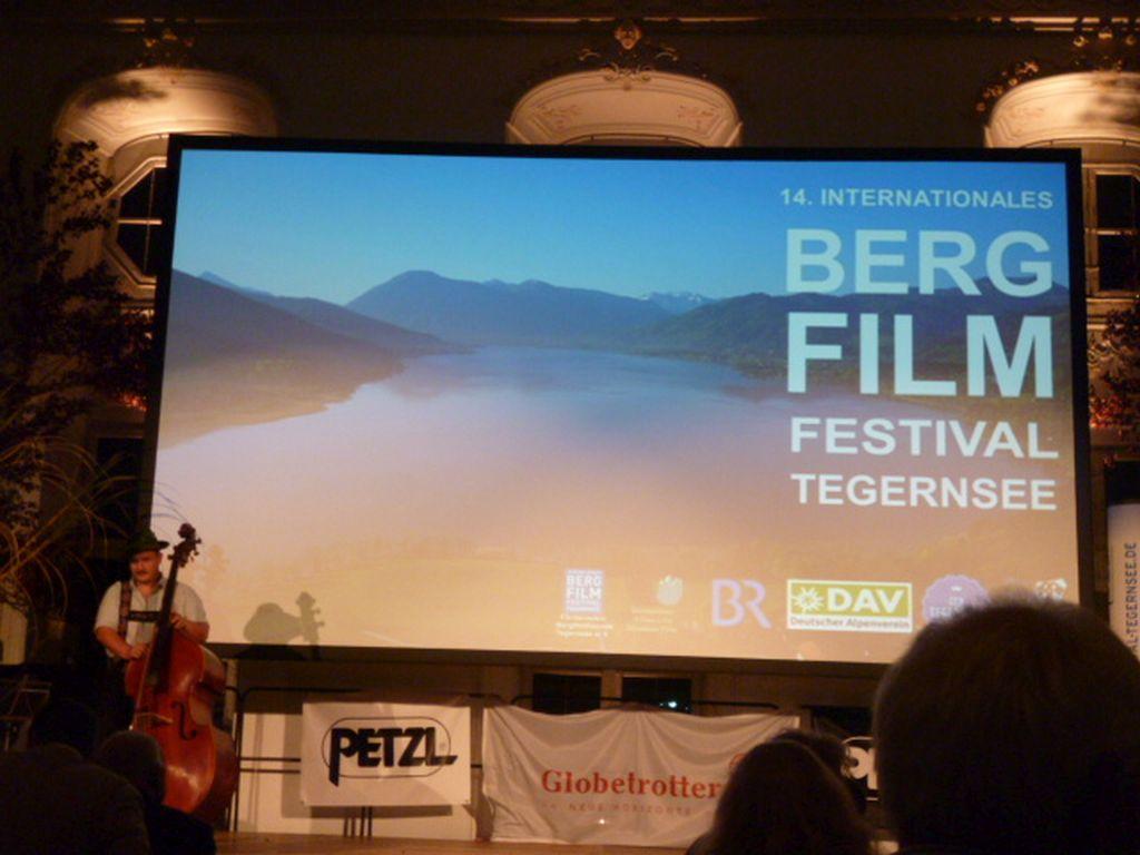 Im Barocksaal zum Finale des Internationalen Bergfilmfestivals 2016