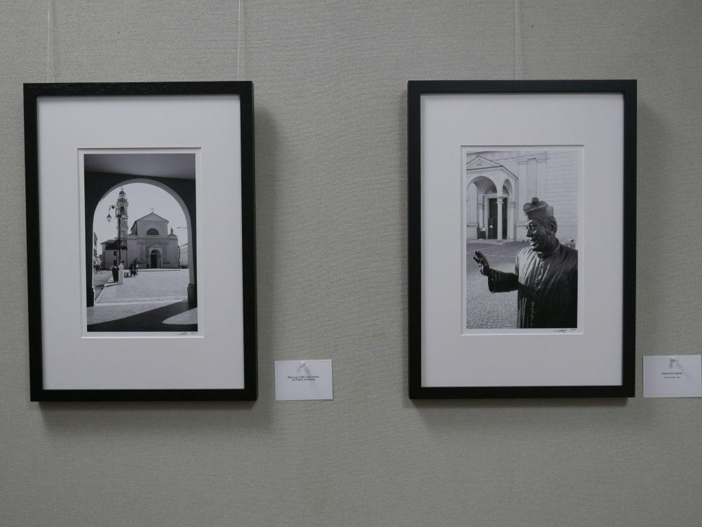Thomas Schwob Blick in die Ausstellung