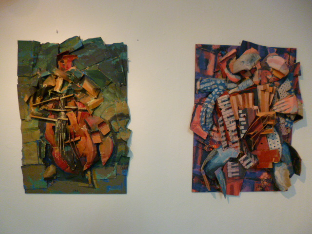 Artehof - Horst Hermenau: Reflections of Sound und Reflections of Movement (v.r.)