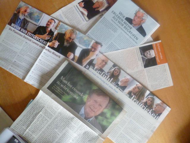 Schreibseminar Interviewtechniken - Zeitungsartikel analysieren