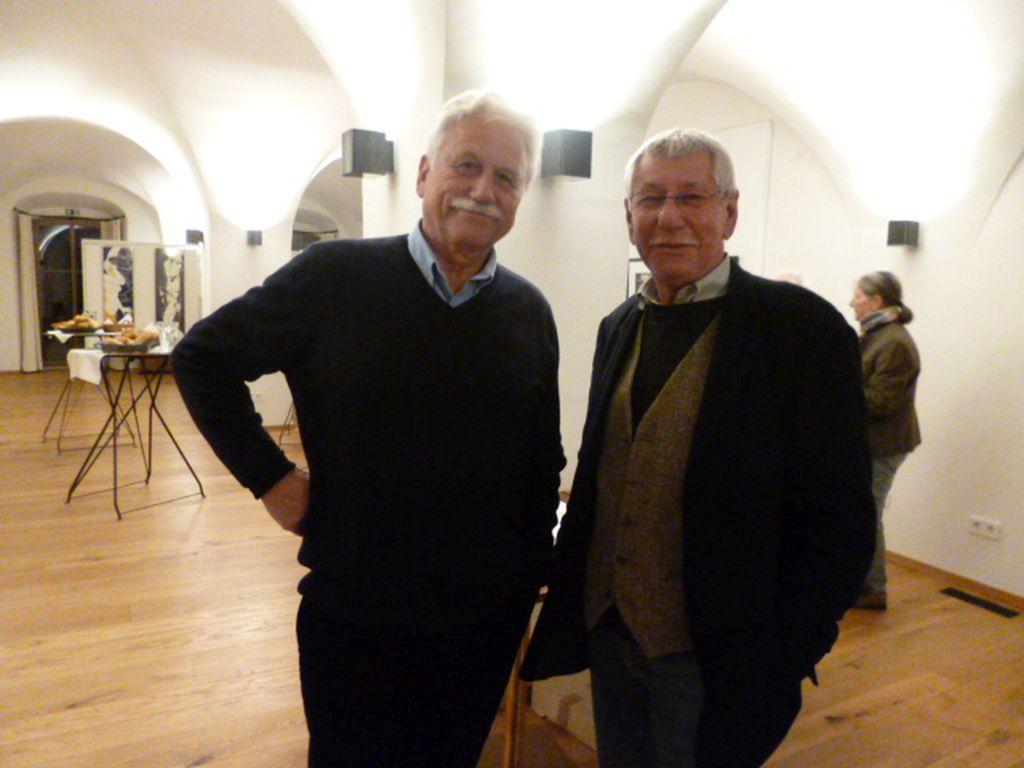 Gunnar Matysiak und Herbert Klee (v.l.).
