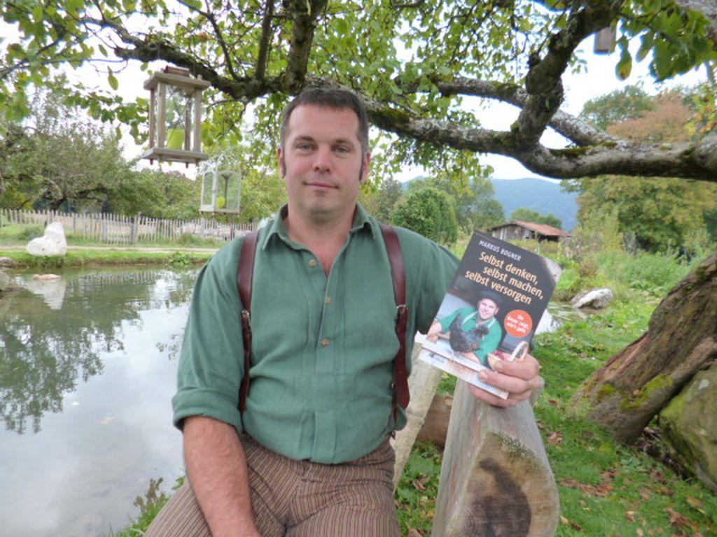 Biologische Landschaft Oberland betreibt Markus Bogner - Buch im oekom verlag
